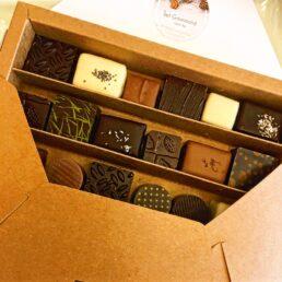 Coffret chocolats de luxe
