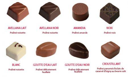 Chocolats Pécou pralinés