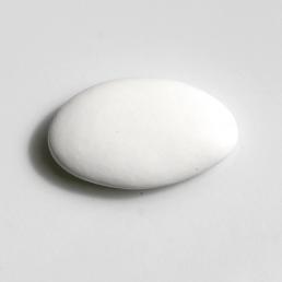 Dragées chocolat blanc mat