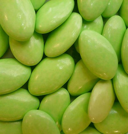 Dragées Avola vert anis