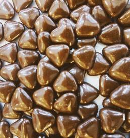 dragées cœur chocolat
