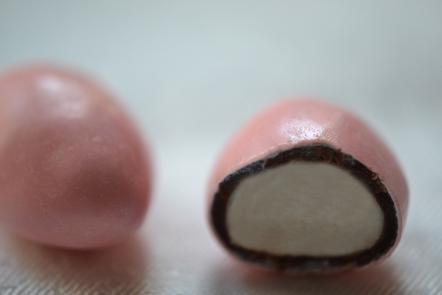 Dragées guimauve rose
