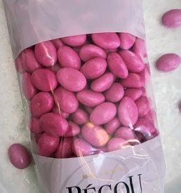 dragées guimauve rose bonbon