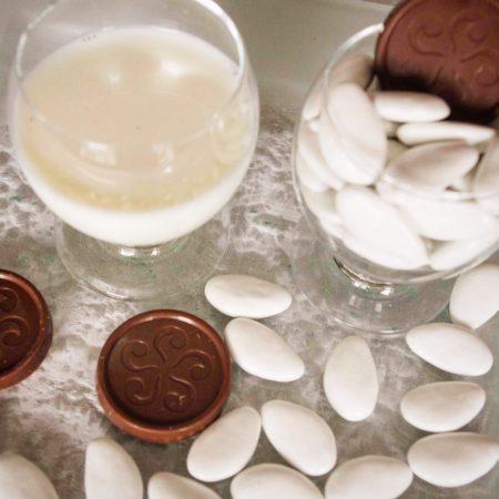 dragées chocolat au lait