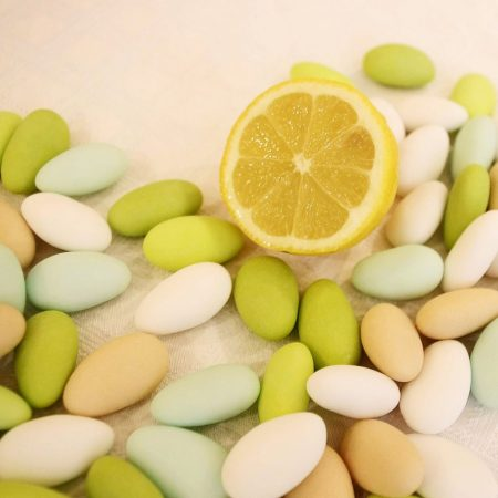dragées amande au citron
