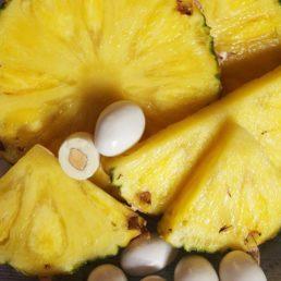 dragées ananas