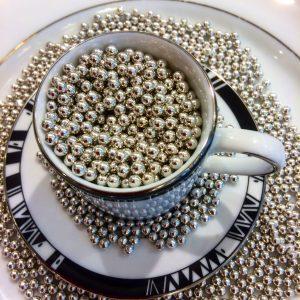 Perles de sucre argent 100g