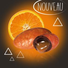 dragée chocolat orange Pécou