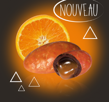 dragée chocolat orange Pécou