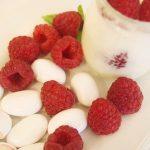 dragées yaourt à la framboise