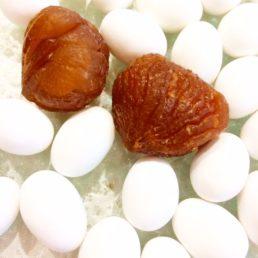 dragées marron glacé