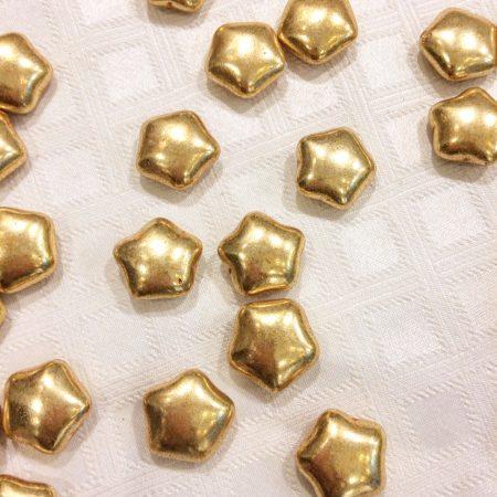 dragées étoile or