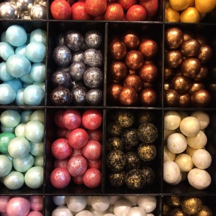 perles de noisette chocolat