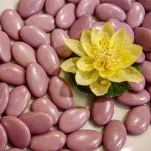 Dragées chocolat lilas clair 500g