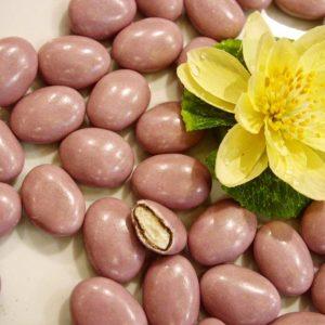 Dragées guimauve lilas clair 500g