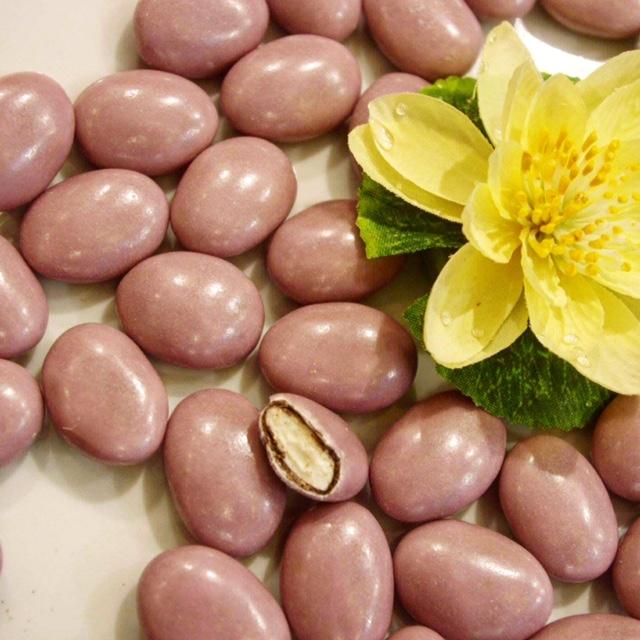 Dragées guimauve lilas