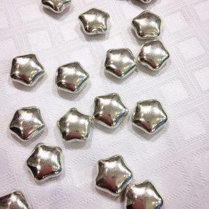 Dragées étoiles argentées 500g