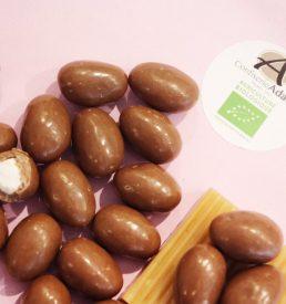 dragées bio guimauve chocolat