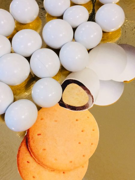dragées biscuit