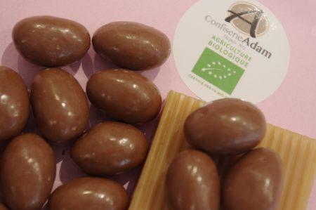 dragées guimauve chocolat bio