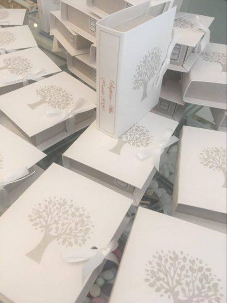 boîtes à dragées arbre de vie