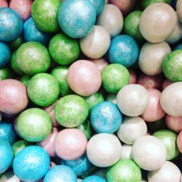 perles de noisettes multicolore