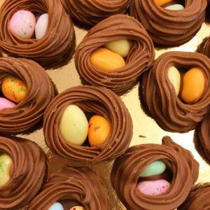 Nid en chocolat gianduja 250g