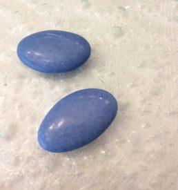 Dragées chocolat bleu lagon