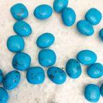 galets bleus au caramel