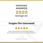 Diplôme Wedding Awards Ilet Gourmand