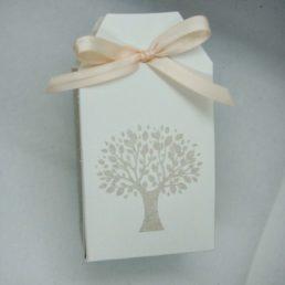 boîte à dragées arbre de vie