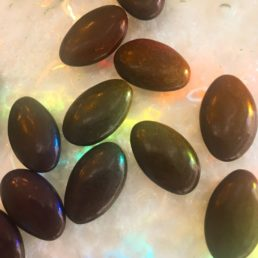 dragées chocolat marron