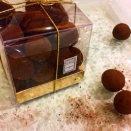 Cerises confites au chocolat