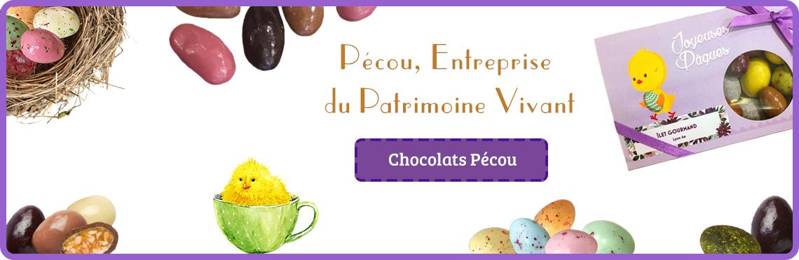 Chocolats de Pâques Pécou