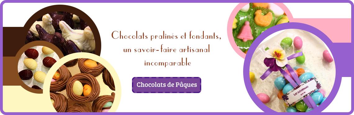 Confiseries / chocolat de Pâques artisanal