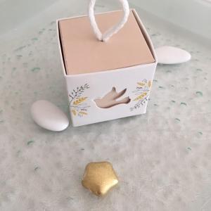 Boîte à dragées colombe