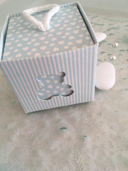 boîte à dragées nounours