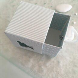 Cube à dragées nounours
