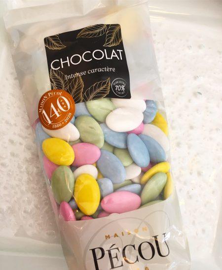 dragées chocolat licorne