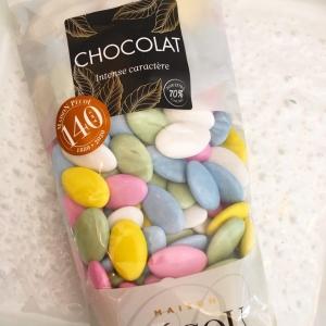 Dragées chocolat licorne 500g